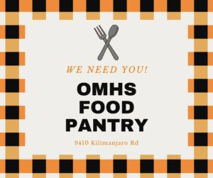OMHS Food Pantry Donation Collection at The Other Barn @ The Other Barn